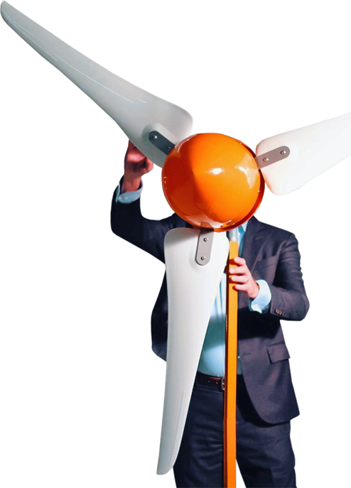 The Windleaf small wind turbine
